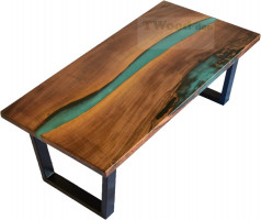 High quality epoxy coffee tables