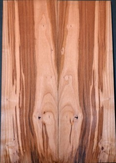 Spalted cherry top