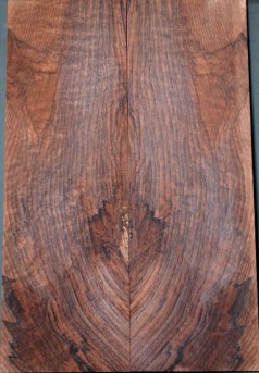 Spalted walnut top