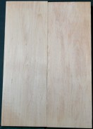 Alder European HQS 2pc body blank