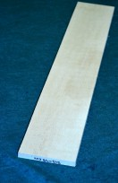 Maple fingerboard blank I QS 5A